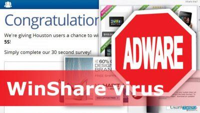 Obraz wirusa WinShare