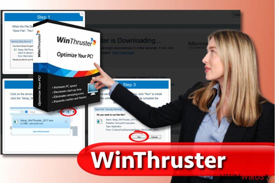 Wirus WinThruster snapshot