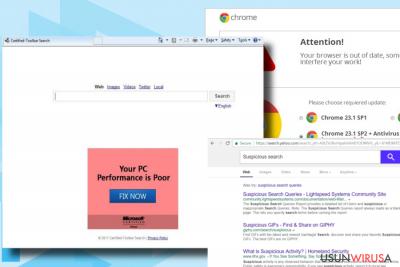 Wirus Wkalle.com wyświetla zmienione wyniki wyszukiwania