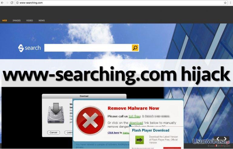 Wirus www-searching.com