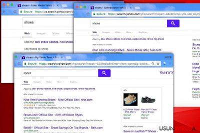 Yahoo Redirect virus