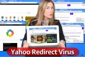 Wirus Yahoo Redirect