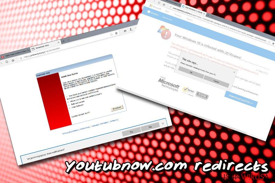 Przekierowania Youtubnow.com